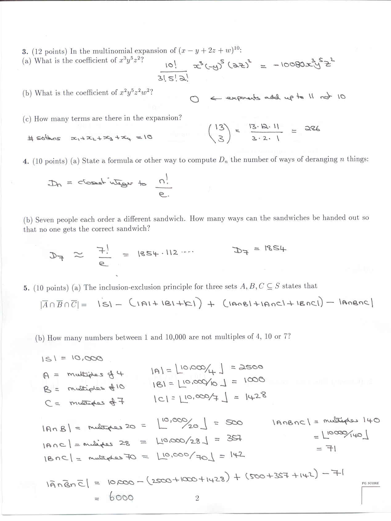 math 117 final exam answers