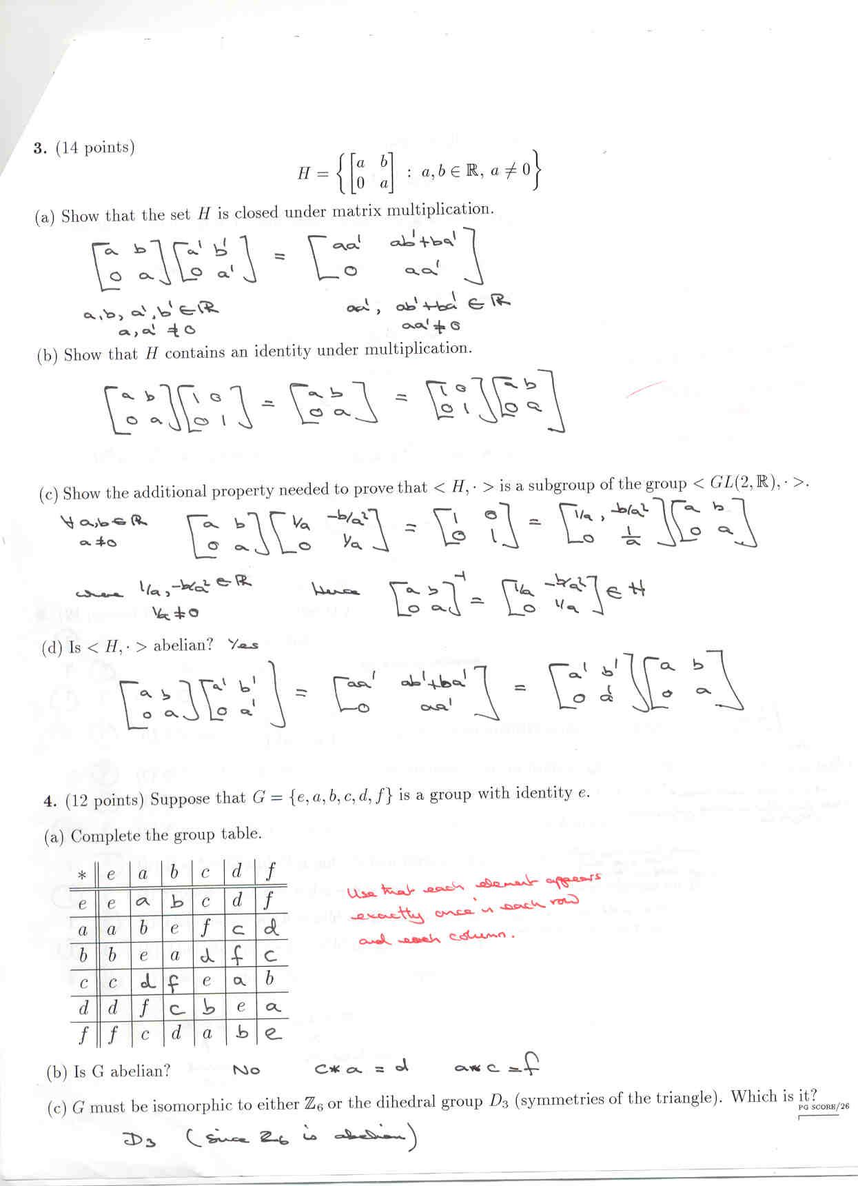 MATH512 Intro to Modern Algebra - 16420 (Chris Pinner)